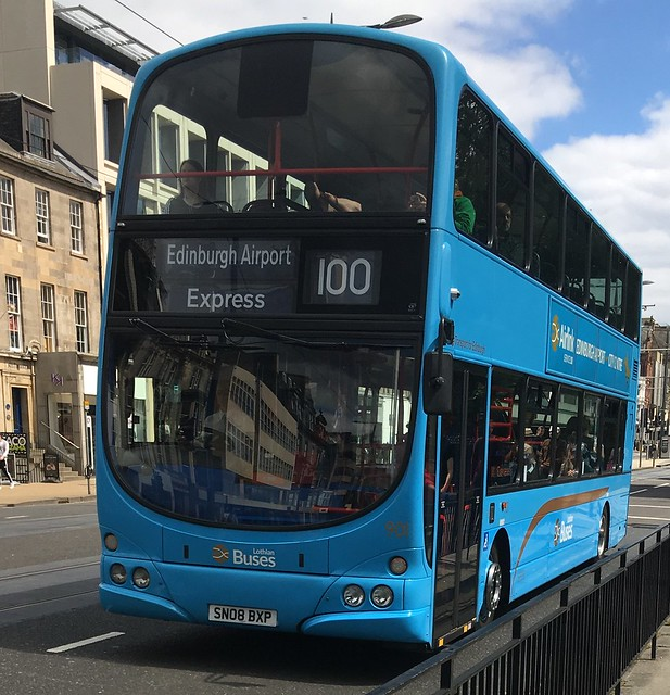Lothian Buses Edinburgh Airlink 901 SN08 BXP (26.06.2017)