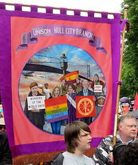 Support from Hull Unison