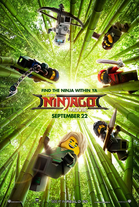 The LEGO Ninjago Movie Plakaty z postaciami 1