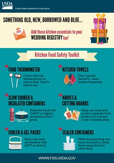 Food Safety Items for Your Wedding Registry