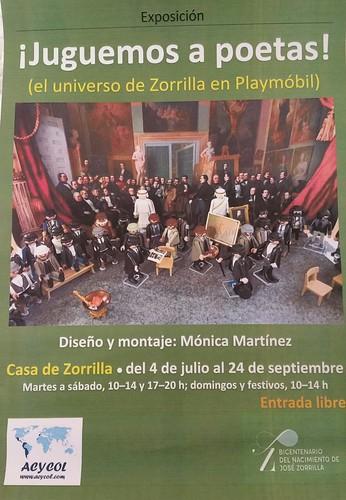 Juguemos a poetas el universo de Zorrilla en Playmobil. Mónica Martínez