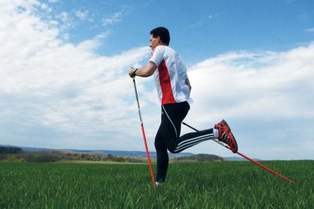 Nordic running: běžkujte bez lyží