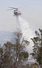 LAFD Makes Ground and Air Assault on Elysian Park Blaze
