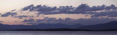 lake lakewinnipesaukee winnipesaukee panorama cloud mountains sunset 70200mm 6d