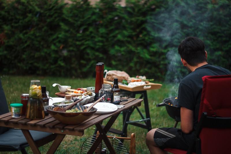 BBQ im Sommer