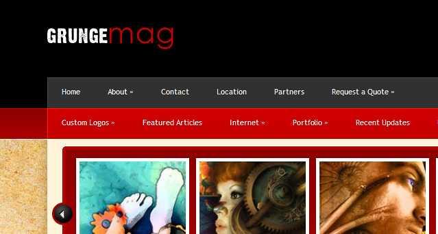 GrungeMag WordPress Theme free download