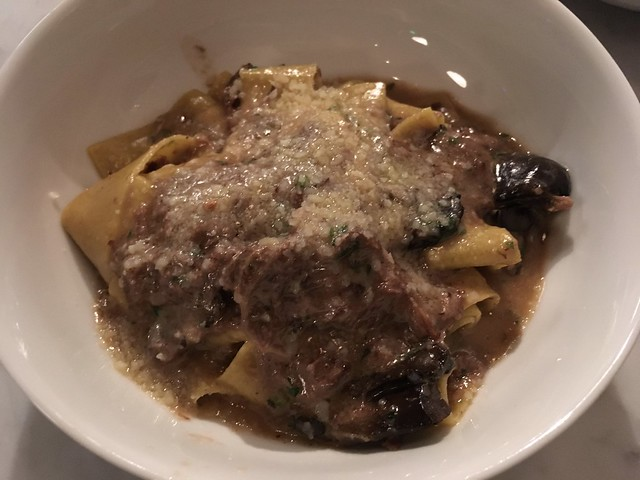 Pappardelle with slow braised beef - Barzotto