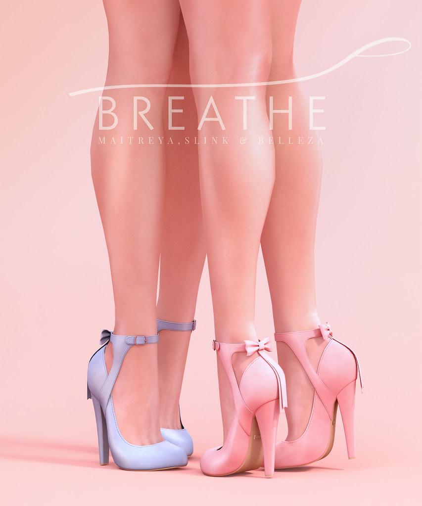 [BREATHE]-Nozomi Heels - SecondLifeHub.com