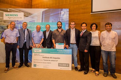 Ganadores del premio del Concurso de Prototipos