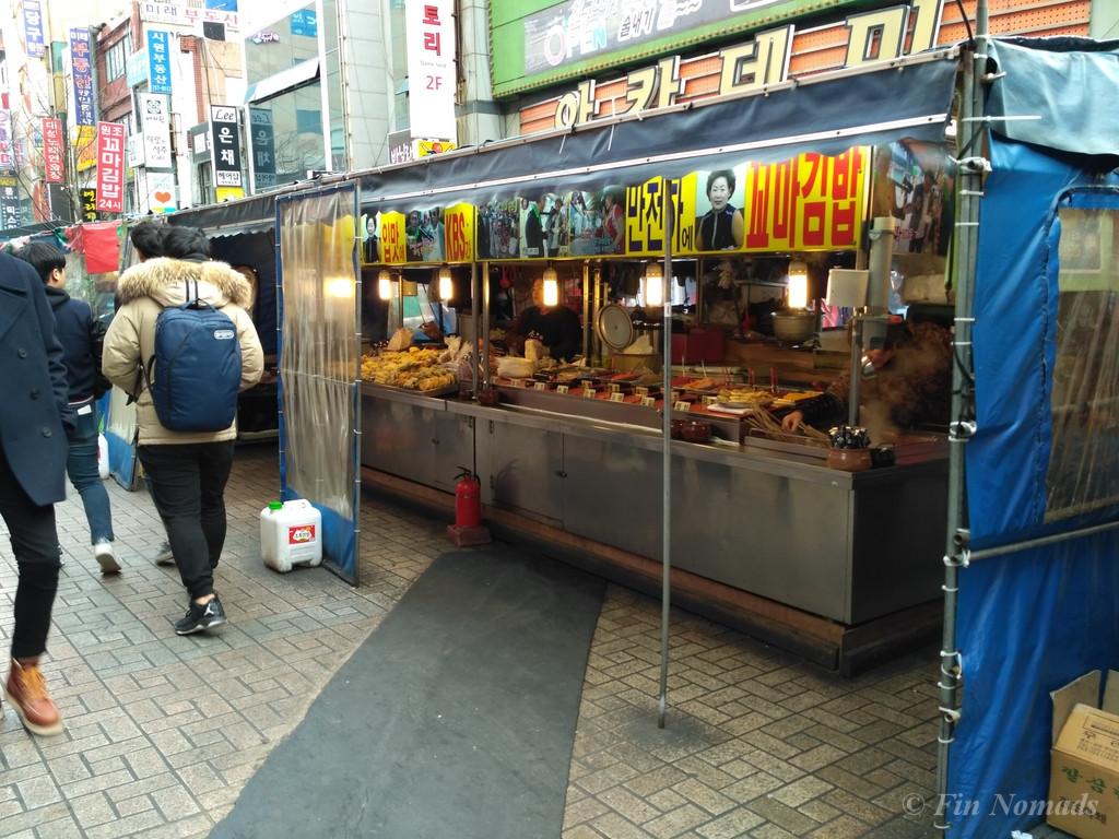 Nambo Busan street food