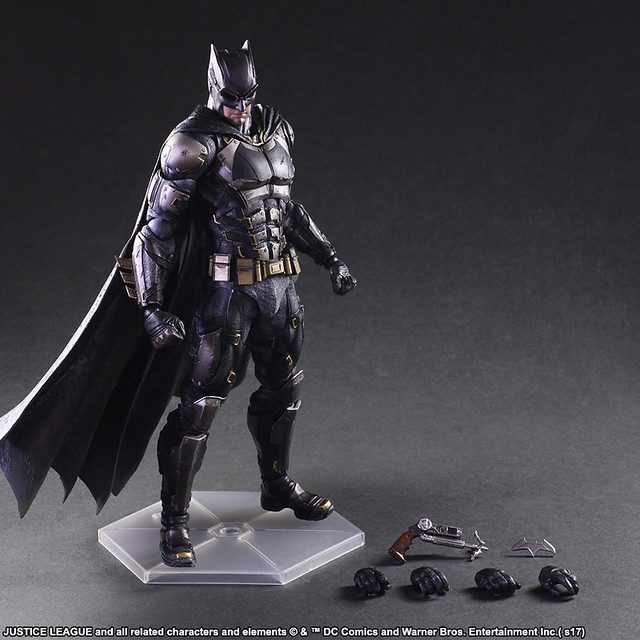PLAY ARTS改 正義聯盟【蝙蝠俠 戰術服裝ver.】Justice League:Batman Tactical Suit ver.