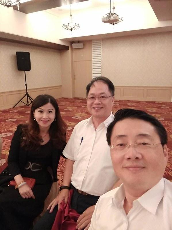 馬前總統蒞臨花蓮翰品酒店 (2)