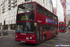 Volvo B7TL Transbus ALX400 - LJ04 LFN - VLA58 - Arriva - Marylebone 2 - London 2017 - Steven Gray - IMG_9591
