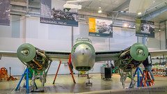 HDR of @FlyingHeritage Mosquito Being Assembled