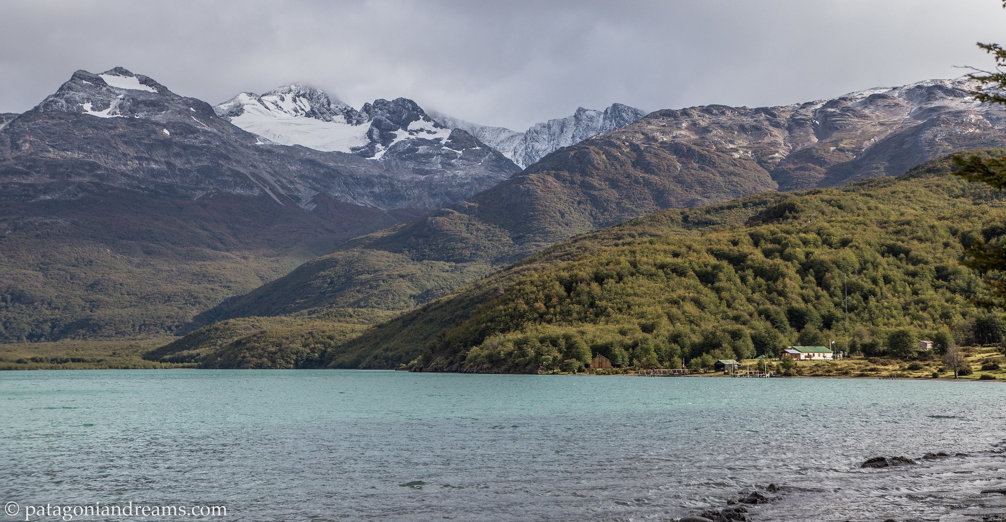 Detachment of the Gendarmería Nacional de Argentina, Lago del Desierto close to the Chilean border, Patagonia, Argentina.