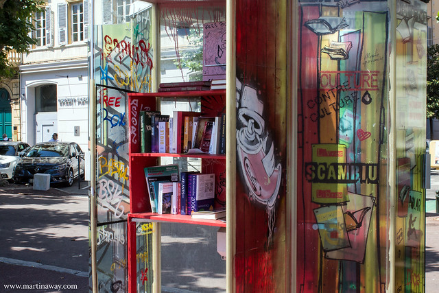 Book crossing, Place Saint-Nicolas