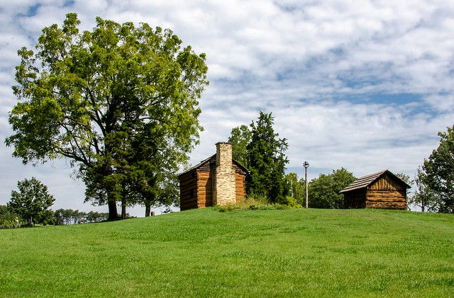 Booker T. Washington National Monument - Cabin