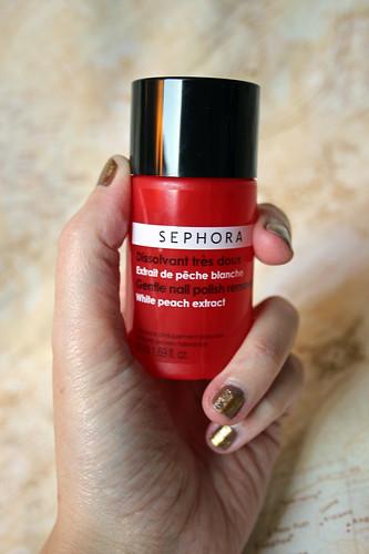 nail varnish/polish remover