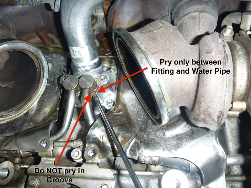 Diy N54 Engine Supply Coolant Pipe