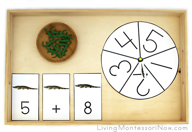 Alligator Addition Game