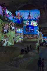 Carrieres de Lumieres, Les Baux