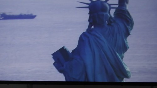 An Excerpt of a MOMA Video of the Statue of Liberty DSCF2862