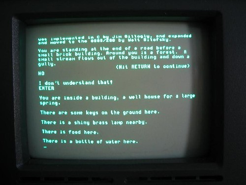 Captura de pantalla de Colossal Cave Adventure