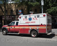 FDNY Ambulance, Morrisania, Bronx, New York City