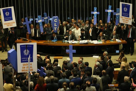 O relatório do senador Ferraço (PSDB-ES) acabou de ser aprovado pela Comissão de Assuntos Econômicos do Senado. - Créditos: Antonio Cruz/Agência Brasil