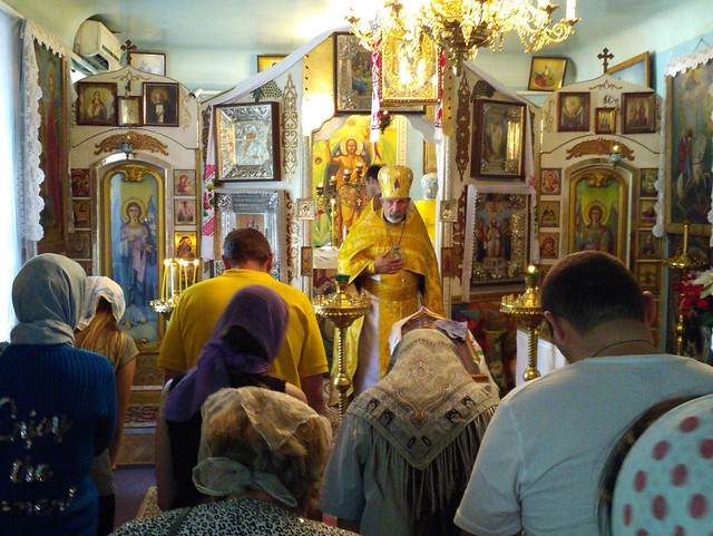 Неділя 11 червня 2017 року в Свято-Кирило-Мефодіївському патріаршому подвір'ї