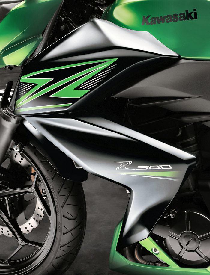 Kawasaki Z 300 2016 - 13