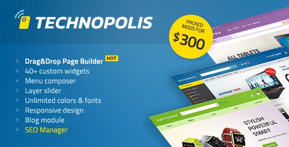 Technopolis v1.1.6 – Electronics Store OpenCart Theme