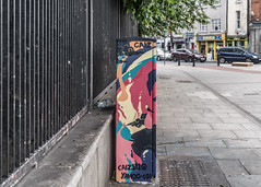 NEW STREET ART BY CAIZ [THE TRAFFIC LIGHT CONTROL CABINET ON BOLTON STREET]-129711