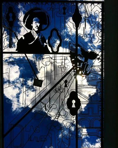 Acá en Calvillo, forjan el hierro y lo funden con el cielo....detalle del callejón de las llaves dentro del recorrido del paseo del artista... En #Calvillo #aguascalientes #pueblomagico #shooting @mexicodesconocido #travelphotographer #travelphotography #