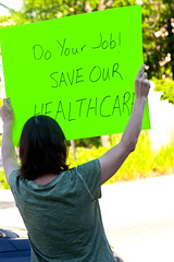 Protest Against Congressman Peter Roskam 6th District Illinois Who Voted for Trumpcare 6-20-17 1598