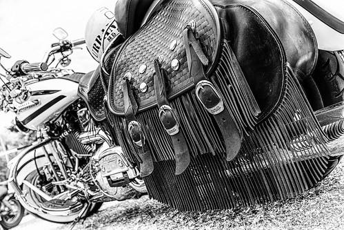 Harley Davidson Leather Saddlebag