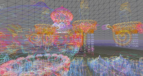 SL14B Cake Stage in Wireframe by Holocluck Henly