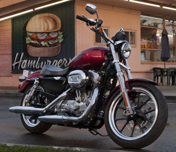Harley-Davidson XL 883 L Superlow 2011 - 15