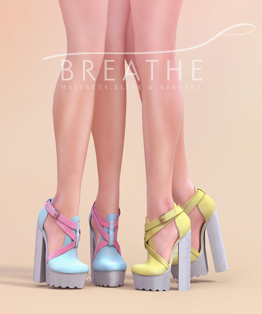 [BREATHE]-Ayumi Heels - SecondLifeHub.com