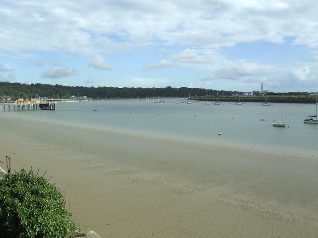 The Medway from Upnor Castle