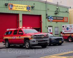 FDNY Emergency Medical Service Station 26, Morrisania, Bronx, New York City