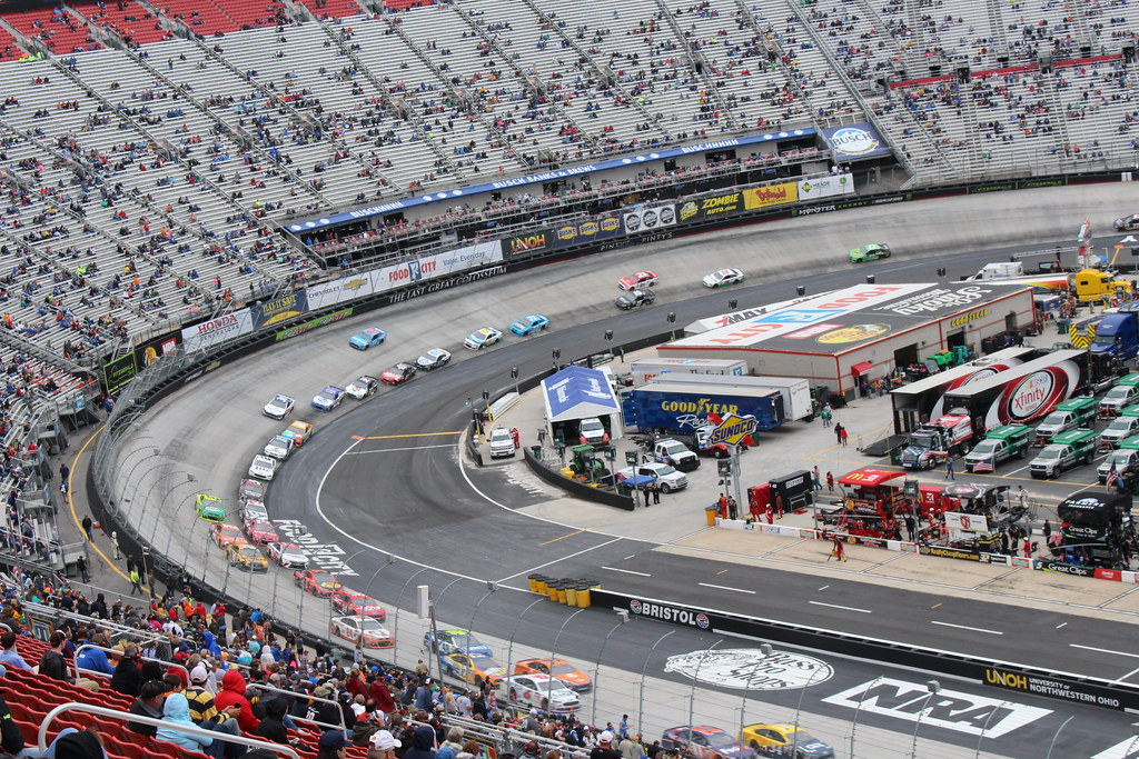 ... Our view of the Food City 500 at Bristol Motor Speedway | by Hazboy