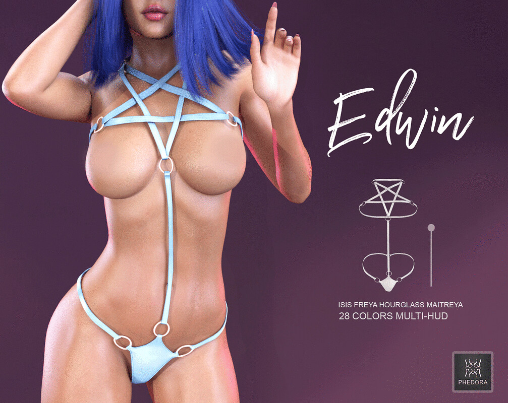 "Phedora. for Somber Event-""Edwin"" Harness! ♥"