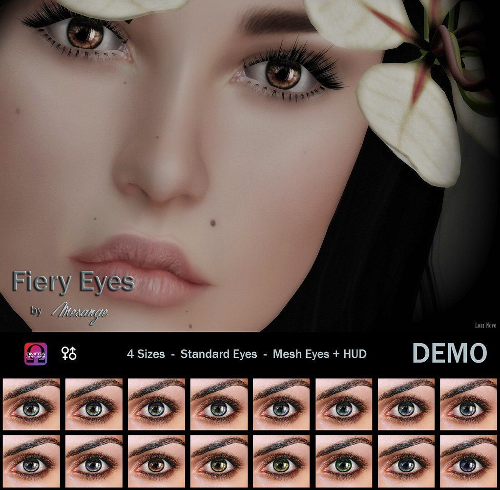 MESANGE - Fiery Eyes for TCF July - SecondLifeHub.com