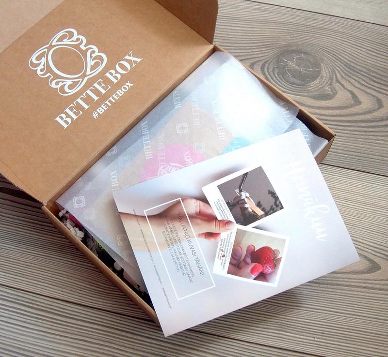 Bette Box Heinäkuu