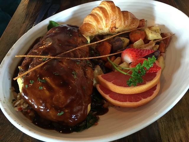 Ribeye omurice - Kitchen Story