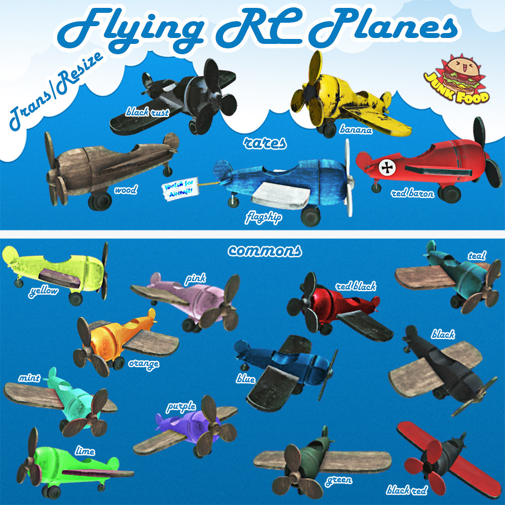 flying rc ad - SecondLifeHub.com