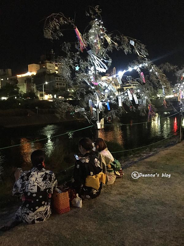 京の七夕 鴨川會場
