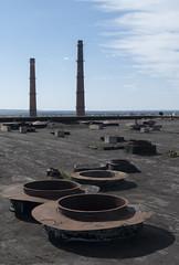 Bij. Daugavpils ķīmiskās šķiedras rūpnīcas jumts, 06.05.2017.