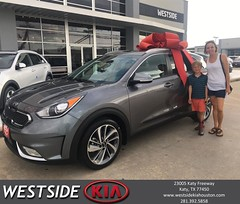 #HappyBirthday to Alison from Bobby Russell at Westside Kia!